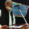 M A Shareef adressing inaugural prog off let us make our home Islamic campaign at koppal