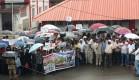protest in Virajpet