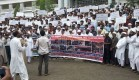 Protest in Gulbarga against Israel Aggression